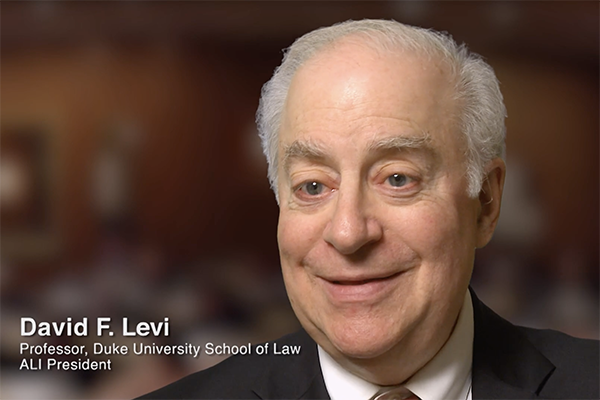 David F. Levi in Visionaries Documentary