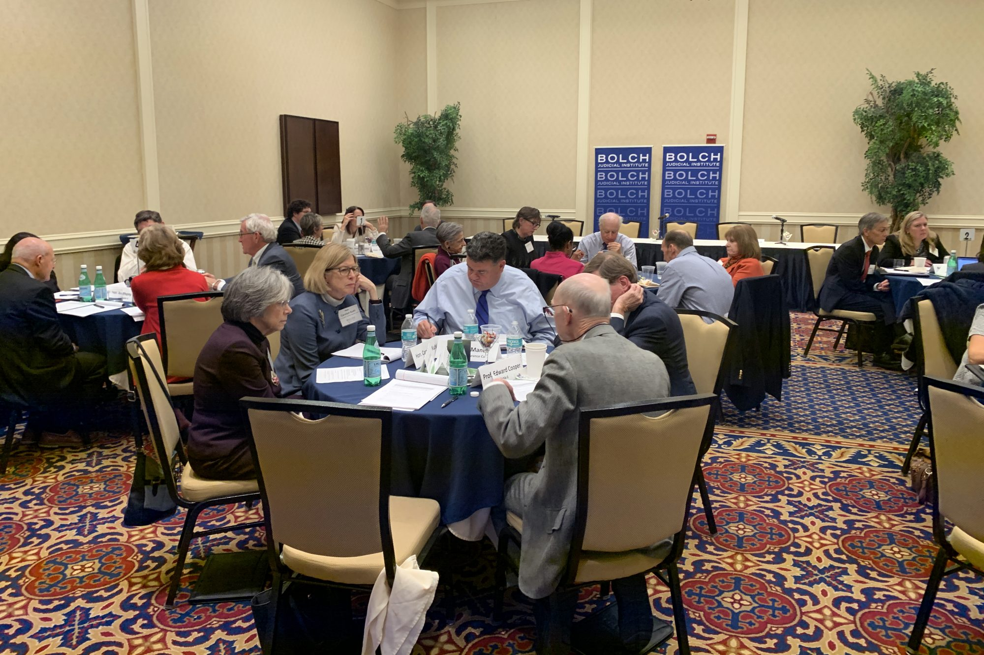 Legal leaders gather to begin planning major conference on federal courts and civil litigation